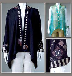 Misses' Vest and Jacket