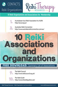 Most industries have associations that provide benefits to its members through networking, education, public advocacy, and professional development. Reiki Therapy, Reiki Practitioner, Continuing Education, Professional Development, Organizations, Chakras, Helpful Hints, Stretches, Healing