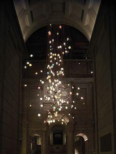 9 bocci 28 280 light installation at the victoria albert museum for the london design festival 2013 Bocci 28.280 at the Victoria & Albert Mu...