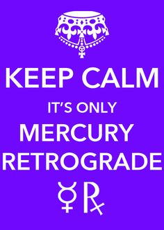 Yes, it has begun… ‪#‎MercuryRetrograde‬ is here. It stations direct on June 11th, and escapes its shadow period on June 26th. ‪#‎KeepCalm‬ ASTROGRAPH.COM★ ASTROLOGY ★ APPS ★ HOROSCOPES
