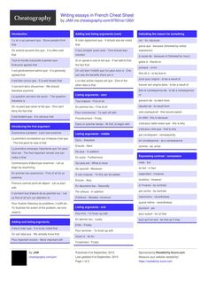 Writing essays in French Cheat Sheet from JAM. Useful expressions to help structure your A level French essay.