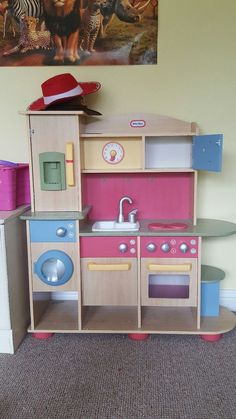 Fully Working Little Tikes Wooden Kitchen Pain In The To Put Together Bought