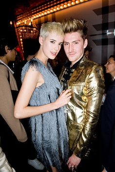 Henry Holland and his muse, Agyness Deyn