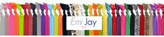 Emi-Jay Hair ties and accessories - our new addiction!