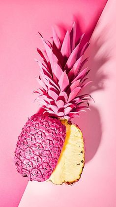 Pink pineappleeeeeeeeeeee i luv it