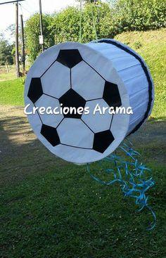 Piñata en forma de Bola de Futbol