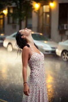 Let the rain fall  - story inspiration, writing inspiration.
