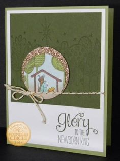 Stampin' Up! The Newborn King Card