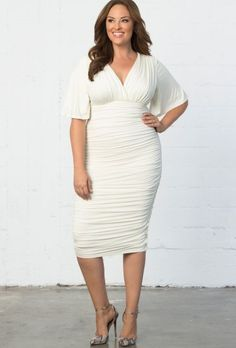 1 – Plus Size Bridal Shower Dress – Plus Size Dresses Plus Size Cocktail Dresses, Plus Size Party Dresses, Dress Plus Size, White Cocktail Dress, Party Dresses For Women, White Dress, Wedding Dresses, Outfits Plus Size, Big And Tall Outfits