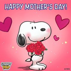 Happy Mother's Day Happy Mothers Day Pictures, Happy Mother Day Quotes, Mother Day Wishes, Snoopy Love, Snoopy And Woodstock, Mothers Day Cartoon, Charlie Brown Cartoon, Cute Good Morning Quotes, Miss Mom