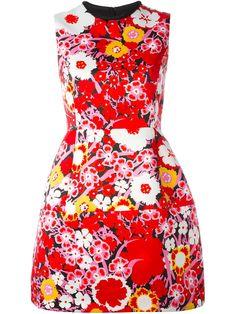 Victoria Victoria Beckham A-line floral dress