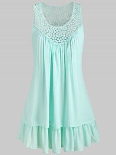62f1d19b00 Plus Size Lace Insert Layered Tank Top 3028 Best Women s Fashion images