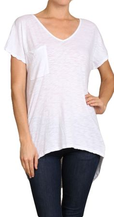 One of the great things about having a boyfriend is stealing that perfectly worn in tshirt And tossing on your favourite jeans. But what's a single gal to do? We got you covered! This super soft tee with high low hem is made from our favourite modal fabric and fits like a dream. I'm thinking new favourite shirt so best order a few.