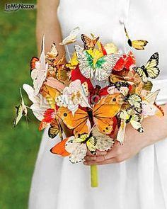 http://www.lemienozze.it/gallerie/foto-bouquet-sposa/img30574.html  Bouquet di farfalle per un matrimonio ecologico