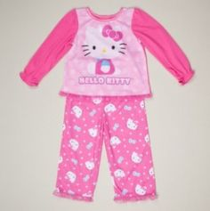 Hello Kitty Toddler Pajama's is only $7.00!
