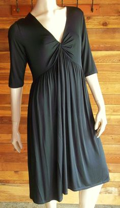NWT DYNYC BLACK SIZE MEDIUM COCKTAIL DRESS ~ ELEGANT ~ ORIG $128 #DYNYC #TeaDress #Cocktail