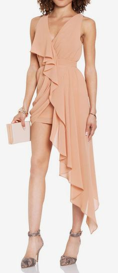 High Low Chiffon Dress (would like this in a different color)