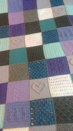 Scheepjes Blanket CAL 2016 (a variation) - In loving memory of the designer Marinke Slump (Wink)- Free Pattern available on Scheepjes Yarn Website Crochet Blankets, Crochet Blanket Patterns, Cal 2016, Last Dance, Beach Blanket, Knitting Ideas, Afghans, Wool Sweaters, Lana