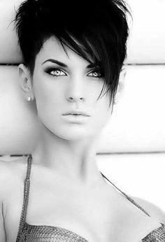 Short Hair with Long Bangs: Long Face Hairstyles