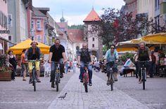 Se pensate che una vacanza in bici sia troppo faticosa per voi, ecco la soluzione: la bicicletta elettrica. In Germania, nella Foresta Nera, dei percorsi attrezzati con colonnine per non rimanere... senza energia