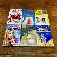 Girls Bundle Of Books high school musical Hannah Montana lily quench squirrel Hannah Montana, High School Musical, Squirrel, The Book, Musicals, Lily, Cover, Books, Libros