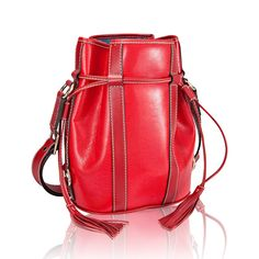 So sad this bag has been discontinued. It was a hot item in the 80s and I still love the classic look with contrast top stitching. The Lancel Elsa bucket bag was my first investment in a designer bag. The Lancel shops pulled out of the U.S. market in 2000 and I regret not buying one of these in the (in the smaller size since the one I bought in the early 90s was the larger one). Maybe one day...on eBay.