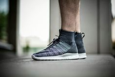 "Nike Free Flyknit Mercurial ""Wolf Grey"" 🔛chmielna20.pl #free #nike #flyknit #mercurial"