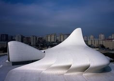 Heydar Aliyev Center, Baku,  Azerbaijan, 2012. Photograph by Hélène Binet