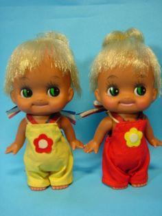 ソフビ人形 双子? Soft Vinyl doll Girl