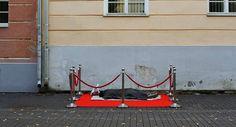 Der italienische KünstlerBiancoshockwar in der estländischen…