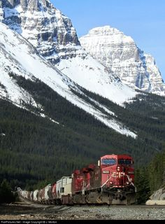 RailPictures.Net Photo: CP 9633 Canadian Pacific Railway GE AC4400CW at Stephen, British Columbia, Canada by J. Morton