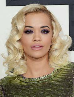 LOVE Rita Ora's Makeup at the 2014 Grammy Awards