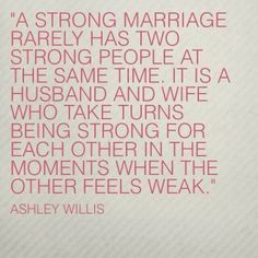 So thankful for the strength of my sweet husband.