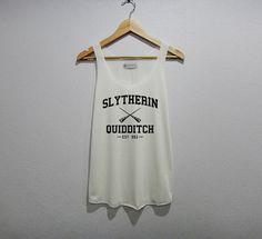 Quidditch Serpentard jeu drôle Débardeur femme taille S M L