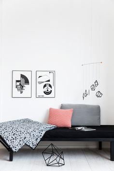 Mobile + bedcover + Illustration, Kristina Dam Studio