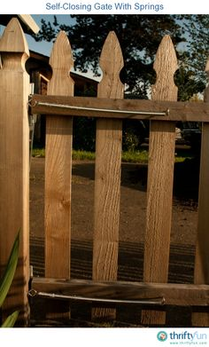 This guide is about installing a self-closing gate. Knowing that your gate is closed securely every time it's opened, can help keep children and pets safe.