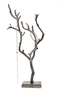 I really do want/need one of these. A tree jewelry holder.