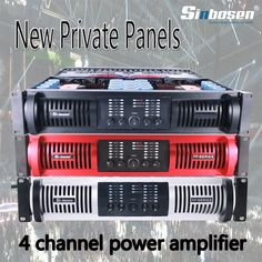 Sinbosen 4 channel high end audio power amplifier used in big event Pole Classes, Speaker Plans, New Panel, Dj Equipment, High End Audio, 4 Channel, Circuit, How To Plan