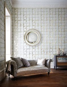 Leonida Collection by Harlequin. #interiordesign #harlequin #wallpaper #fabric