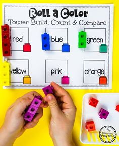 Color Worksheets Join our Email Group for Ideas, Freebies & Special Offers.Do you need fun color worksheets and centers for teaching preschool kids about col Color Worksheets For Preschool, Back To School Worksheets, Preschool Colors, Preschool Learning, Teaching, Preschool Ideas, Fluency Activities, Autism Activities, Classroom Activities