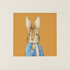 Beatrix Potter's Peter Rabbit (Mounted Print) <3