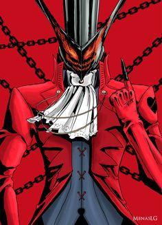 Persona 5: Arsene by MenasLG