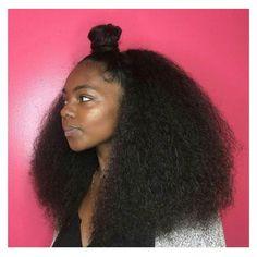 The Beauty Of Natural Hair Board Pelo Natural, Long Natural Hair, Natural Hair Updo, Natural Curls, Natural Hair Styles, Natural Beauty, Trending Haircuts, Natural Hair Inspiration, Big Hair