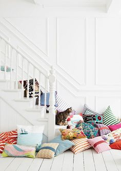 Sneak Peek at Heart Home mag for Spring today on http://decor8blog.com/2013/03/05/color-pattern-for-spring/