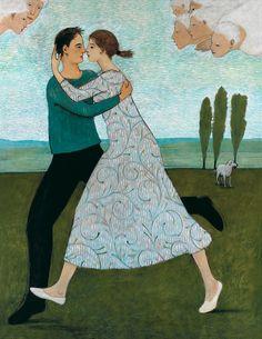 """Lovers Running"" by @briankershisnik #kershisnikprints"