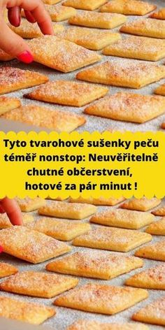 Mini Dessert Recipes, Easy Dinner Recipes, Easy Meals, Czech Recipes, Biscuit Recipe, How Sweet Eats, Pain, Crepes, No Cook Meals