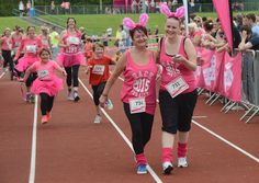 Runners in the Race for Life 2015 at Herringthorpe cross the finishing line. More pictures in Friday's Advertiser.