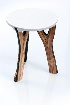 Branch Stool. Moderne Couchtische, Holz Ideen ...