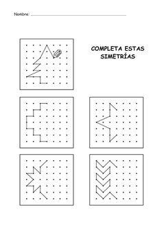 Menta Más Chocolate - RECURSOS y ACTIVIDADES PARA EDUCACIÓN INFANTIL: Actividad: Completa las Figuras