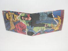 Comic Book Wallet// Etrigan the Demon and Hitman, $3.50